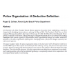police_organization_a_deductive_definition