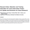 research_note_retention_and_training_saturation_cit_abstract